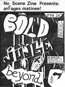 Safari Club show flyer from back-in-the-day